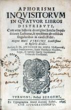 Aphorismi Inqvisitorvm In Qvatvor Libros Distribvti