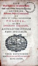 Adversus Fictiones Nuperi Criminatoris De Varia Et Libera Ecclesiarum...