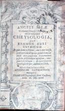 Chrysologia, Sev Examen Auri Chymicum.Adjecti sunt...