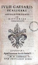 Animadversiones in Historias Theophrasti
