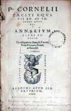 Annalivm Libri Sedecim (Vol. I)