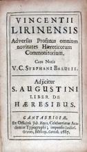 Adversus Profanas omnium novitates Haereticorum Commonitorium...