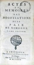 Actes Et Memories Des Negotiations De La Paix De Nimegue (II)