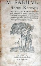 Commentarii in Rhetoricos M. Tullii Ciceronis