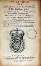 מנחה בלולה sive Στρωματευς Επιστολικος De Vita Functorum statu