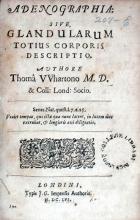 Adenographia: Sive, Glandularum Totius Corporis Descriptio