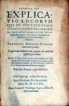 Cathena, Sev Explicatio Locorvm Qvi In Pentatevcho Svbobscvriores...
