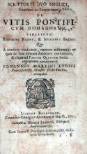 Scriptores Dvo Anglici, Coaetanei ac Conterranei...