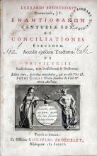 Εναντιοφανων Centuriae Sex, et Conciliationes Eorundem
