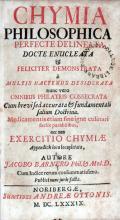 Chymia Philosophica