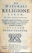 De Naturali Religione Liber, In tres partes divisus