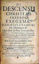 De Descensu Christi Ad Inferos, Exegema...