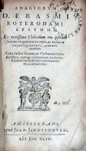 Adagiorvm…Epitome. Ex novissima Chiliadum ceu ipsorum fontium...