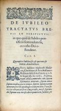 De Ivbileo Tractatvs Brevis Et Perspicvvs: in quo quid de Iubileo...