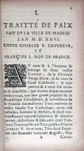 Articles de la Paix Entre Les Couronnes De France et D'Espagne...