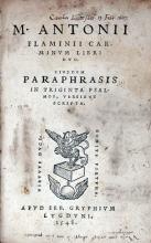 Carminvm Libri Dvo.  Eivsdem Paraphrasis in Triginta Psalmos