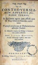 עמר ראשית קצירי Hoc est, Controversiarum Adversus Judaeos Ternio...