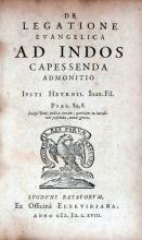 De Legatione Evangelica Ad Indos Capessenda Admonitio