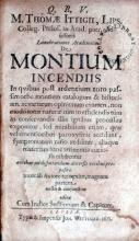 De Montium Incendiis