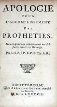Apologie Pour L'Accomplissement Des Propheties