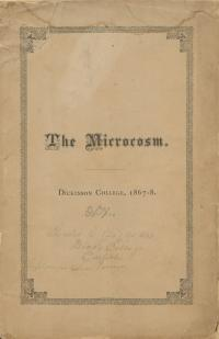 Microcosm yearbook for 1867-68
