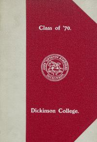 Memory book for the Class of 1870