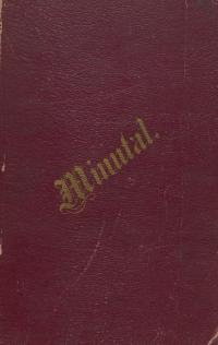 Minutal yearbook for 1880-81