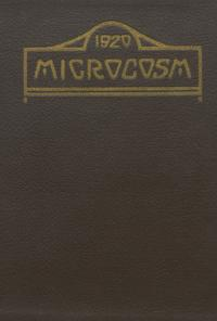Microcosm yearbook for 1919-20