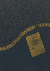 Microcosm yearbook for 1935-36