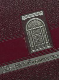 Microcosm yearbook for 1936-37