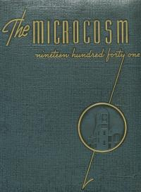 Microcosm yearbook for 1940-41