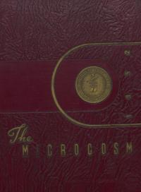Microcosm (Yearbook) for 1951-52 Academic Year