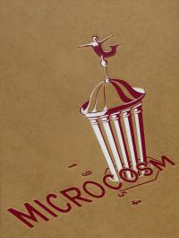 Microcosm yearbook for 1953-54