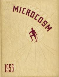 Microcosm yearbook for 1954-55
