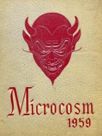 Microcosm yearbook for 1958-59