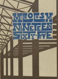 Microcosm yearbook for 1954-65