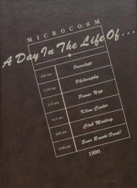 Microcosm yearbook for 1989-90