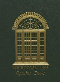 Microcosm yearbook for 1992-93