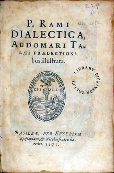 Dialectica, Audomari Talaei Praelectionibus illustrata