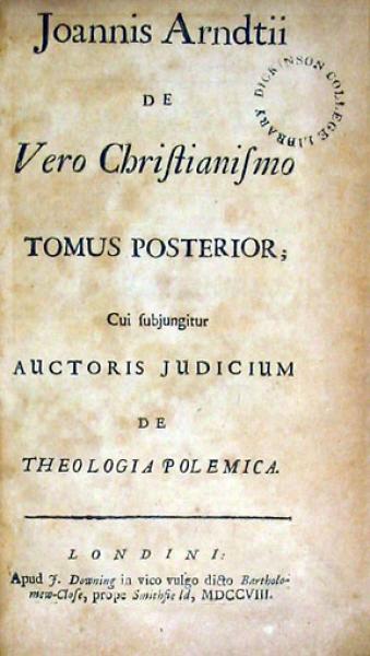 De Vero Christianismo Tomus Posterior