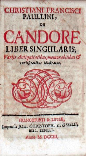 De Candore Liber Singularis