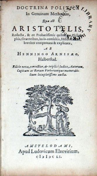 Doctrina Politica In Genuinam Methodum, Qua est Aristotelis...