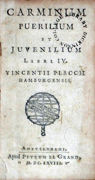 Carminum Puerilium Et Juvenilium