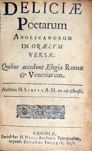 Deliciae Poetarum Anglicanorum