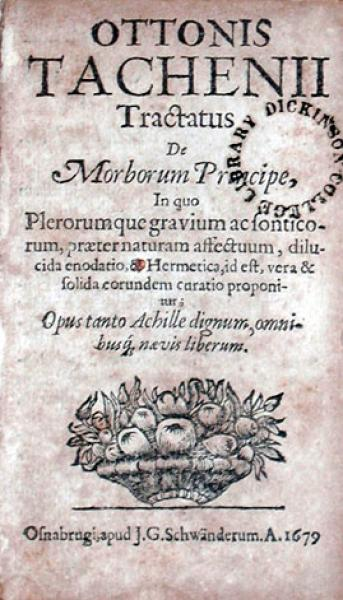 Tractatus De Morborum Principe