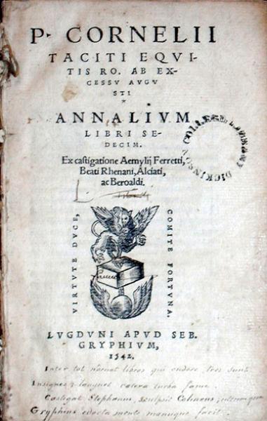 Annalivm Libri Sedecim (Vol. II)