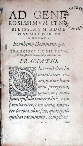 De Re Militari, Libri Quatuor. Sexti Ivlii Frontini Stratagematωn...