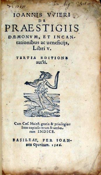 De Praestigiis Daemonvm, Et Incantationibus ac ueneficijs