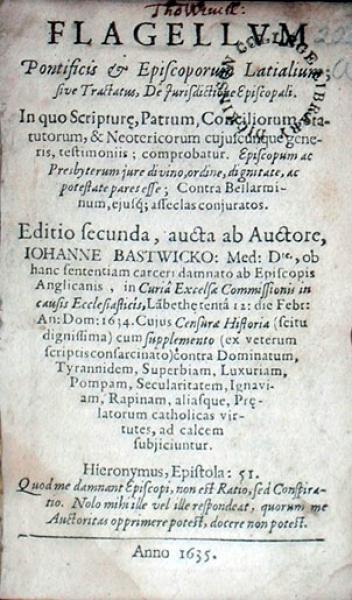 Flagellvm Pontificis & Episcoporum Latialium; sive Tractatus...
