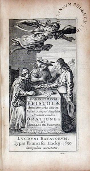 Epistolae Semicenturia auctae; Lacunis aliquot Suppletis...